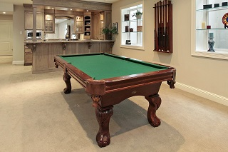 Pool Table Moves from start to finish in Boise