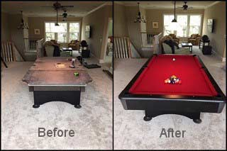 Expert Pool Table Repair in Boise