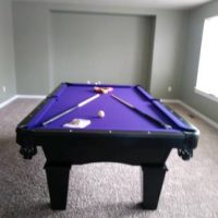 Pool Table 10 Months Old