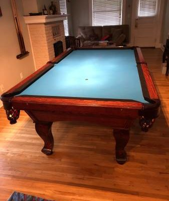 Admiral Billiards Table