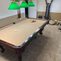 8 ft Solid Wood Pool Table