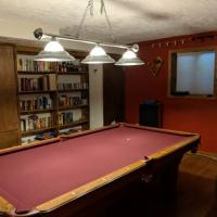 Olhausen 8 ft Pool Table and Accessories