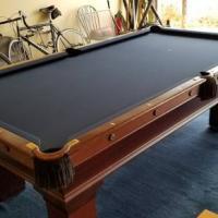1905 Brunswick Billiard Table