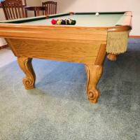 Awesome Slate Top Pool Table (SOLD)