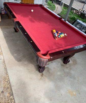 The Great American Billiard Pool Table