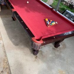 The Great American Billiard Pool Table