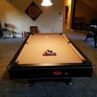 "4x8 Quality Pool Table - 1"" 3-piece slate"